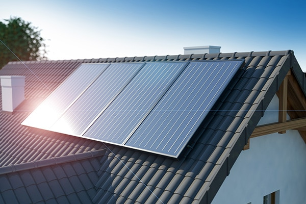 Home LG solar panels