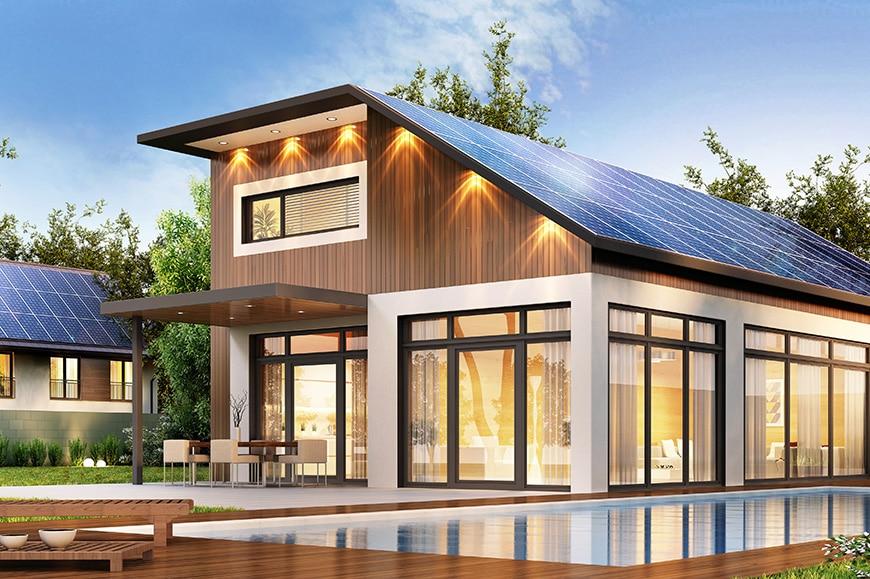 LG Solar home battery