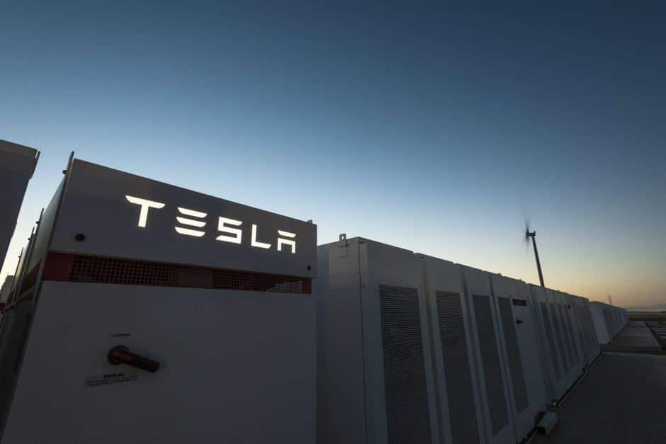Tesla battery in SA