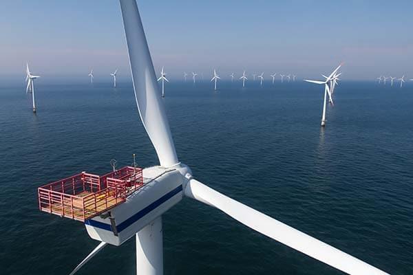 Offshore wind farm renewable resources