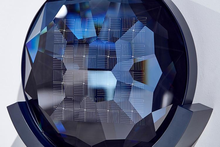 Solar Swarovski crystals