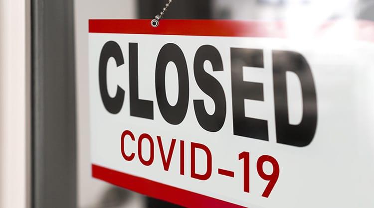 Covid-19 closure