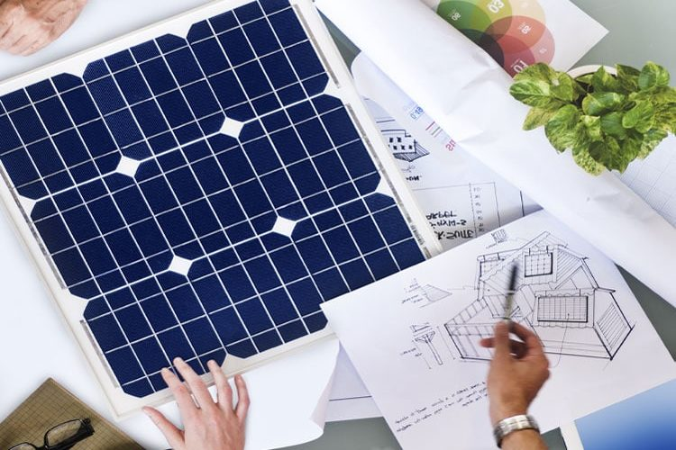 Buying solar panels for your new home