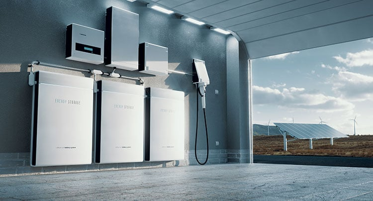 Home solar batteries