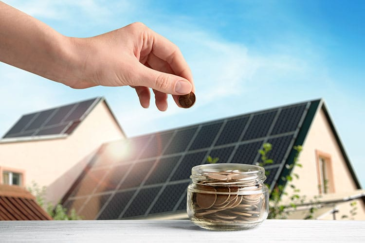 Save money with solar power