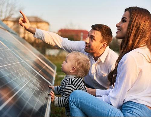 Q Home solar panels